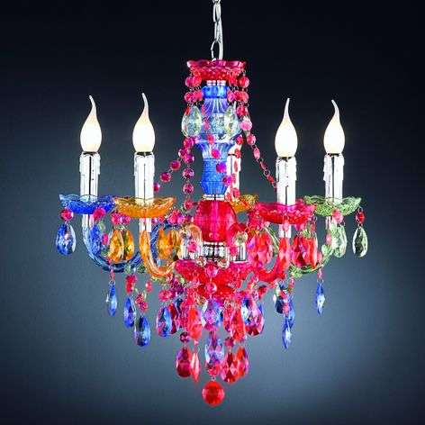 Colourful Perdita chandelier