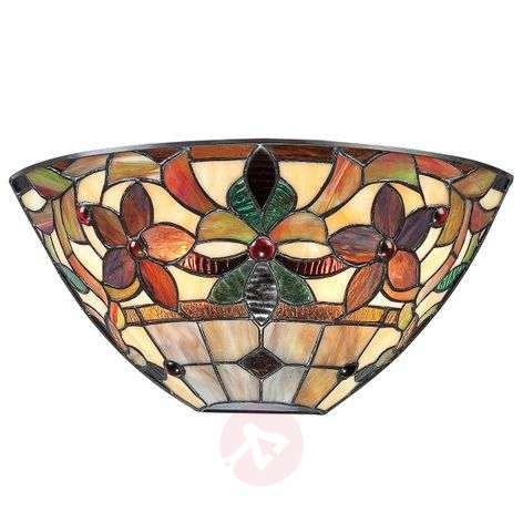 Colourful wall lamp Kami in a Tiffany look-3048635-31