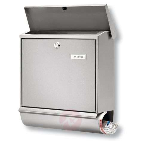 Comfort stainless steel letter box set