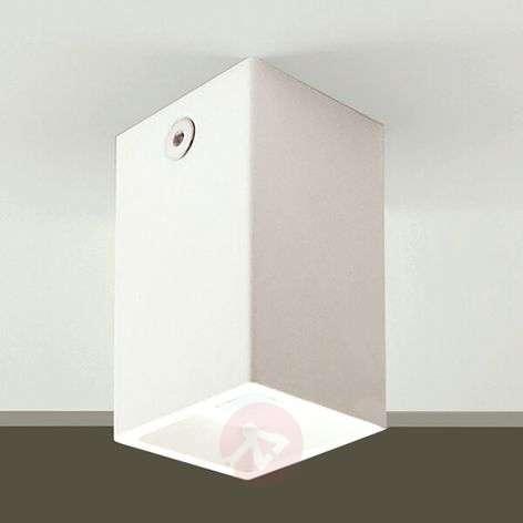 Compact LED ceiling light Oki LED, white