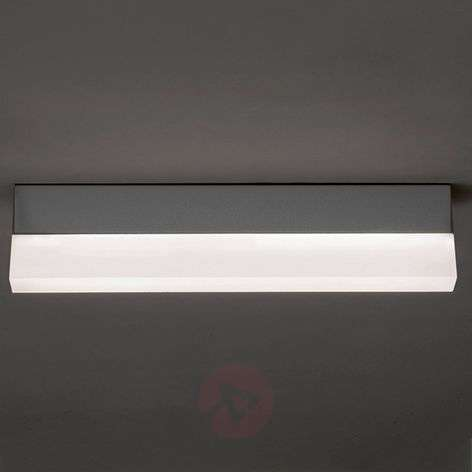 Concrete grey LED ceiling lamp Righa 28 W 3500 lm