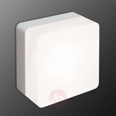 Concrete grey painted LED wall light Muffin