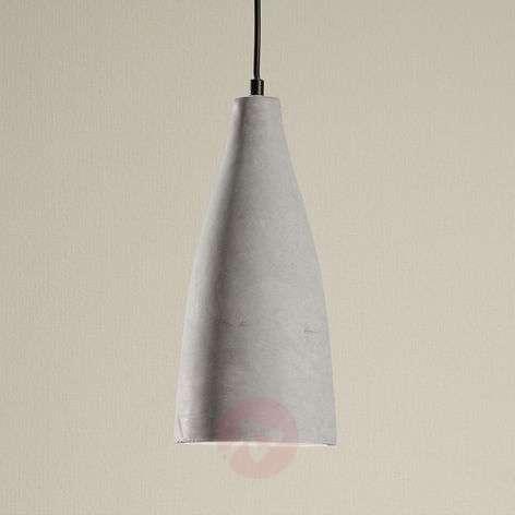 Concrete pendant lamp Sanne in industrial style