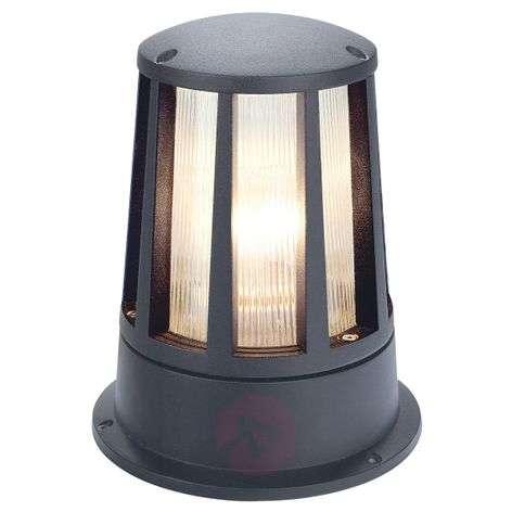 Cone Pillar Light in Anthracite IP54