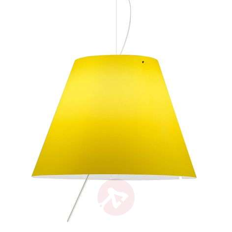 Constanza - adjustable LED hanging light yellow