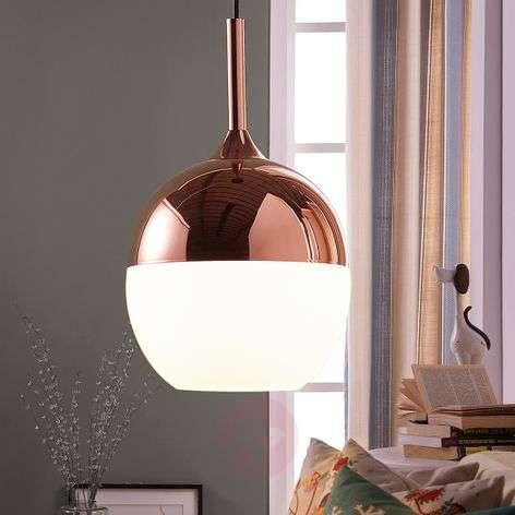 Copper-coloured Deda pendant lamp-9620990-33