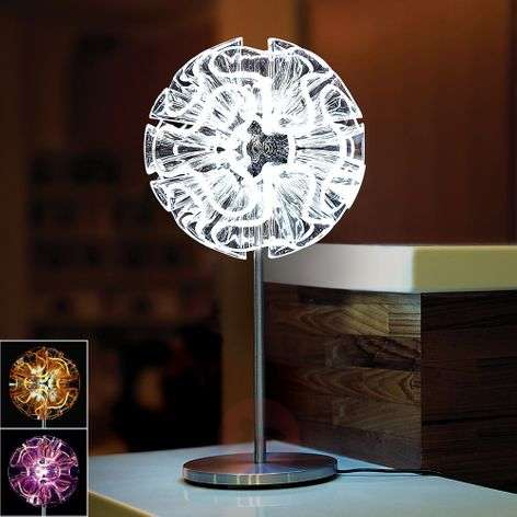 Coral designer table lamp with LED-7751013X-31