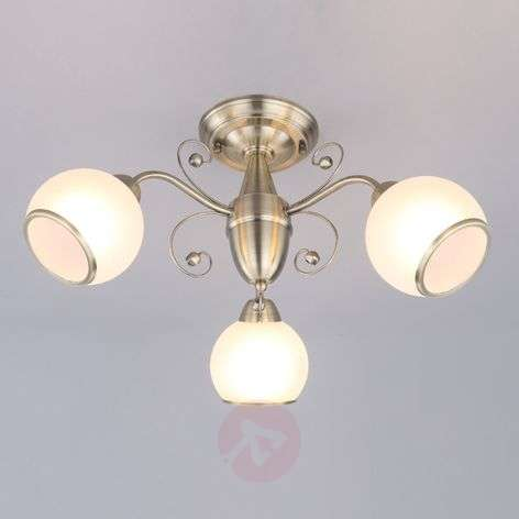 Corentin - attractive ceiling lamp, classic style