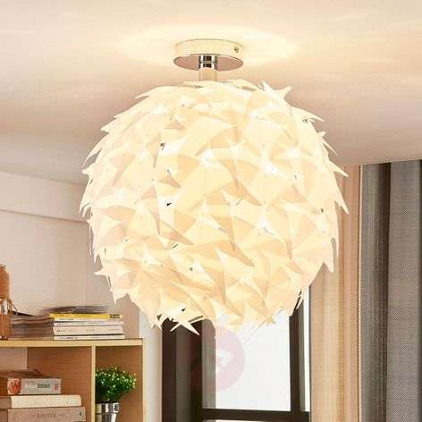 Corin - white ceiling light in trendy look