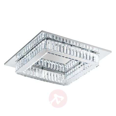 Corliano crystal ceiling light with LEDs