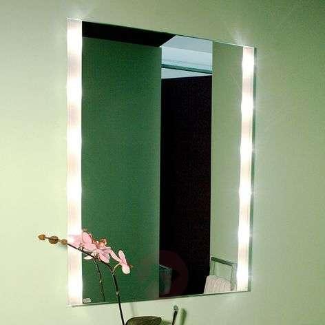 Corner wall mirror BRIGHTLIGHT, illuminated
