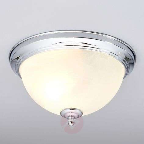 Corvin Bathroom Ceiling Light Chrome-Coloured