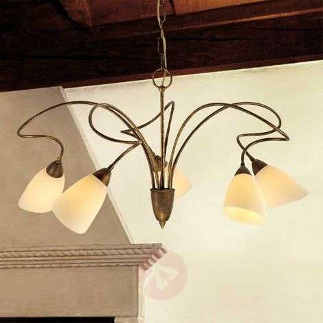 Country-house hanging light Alessandro