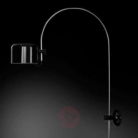 Coupé - arc wall light in black