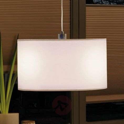 Cream-coloured fabric lampshade Tessa URail 2Easy