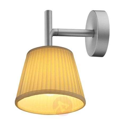 Cream-coloured Romeo Babe Soft W Wall Lamp