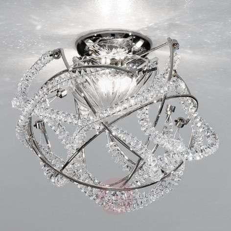 Crystal ceiling light Caleidos, diameter - 25 cm