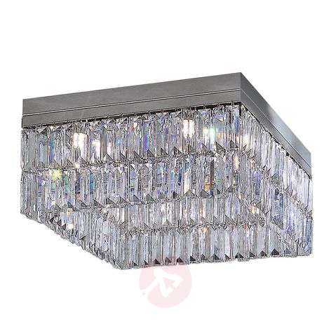 Crystal ceiling light PRISMA