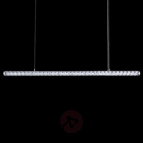 Crystal LED hanging lamp Dionia by Swarovski