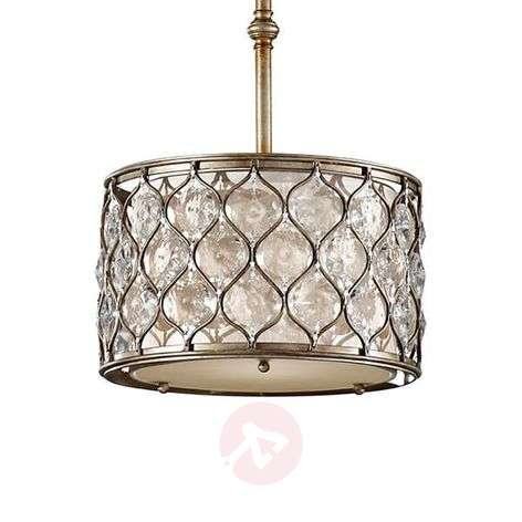 Crystal pendant light Lucia medium