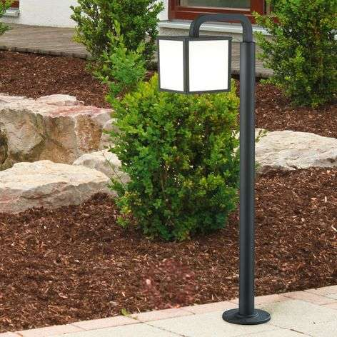 Cubango an LED path light with a lantern shape-9004727-31
