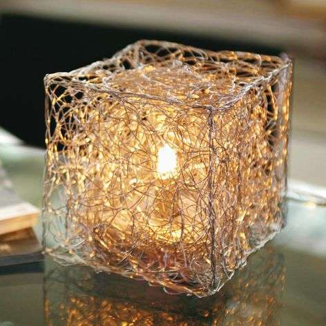 Cube-shaped table lamp Qubetto-5538040-31