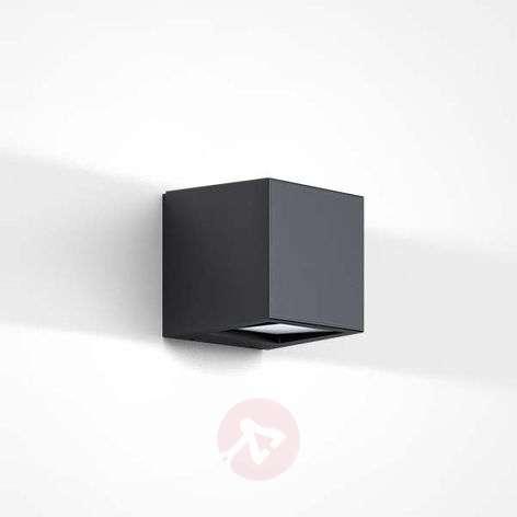 Cubic LED outdoor wall light Gap Q