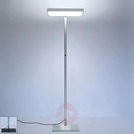 Cubic-S3 office floor lamp, direct-indirect