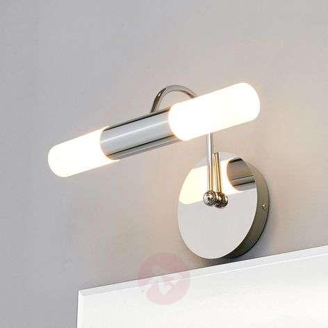 Curved Benaja LED wall light for bathroom