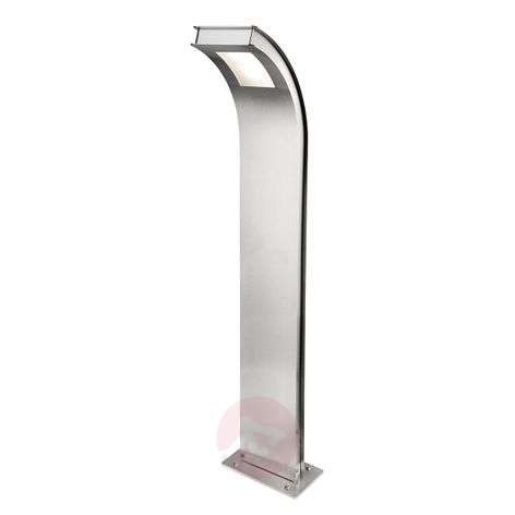 Curved Citos-Stand XL stainless steel path light