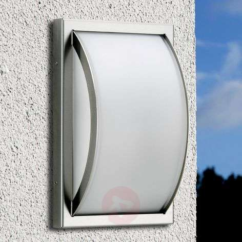 Curved outdoor wall light Piegare