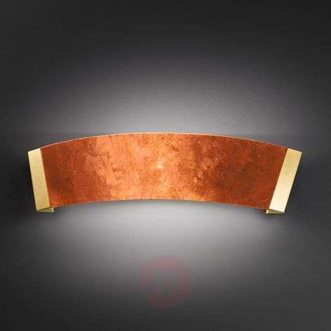 Curved wall light Barca