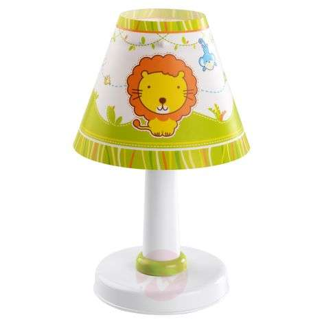 Cute childrens table lamp Little Zoo-2507360-31