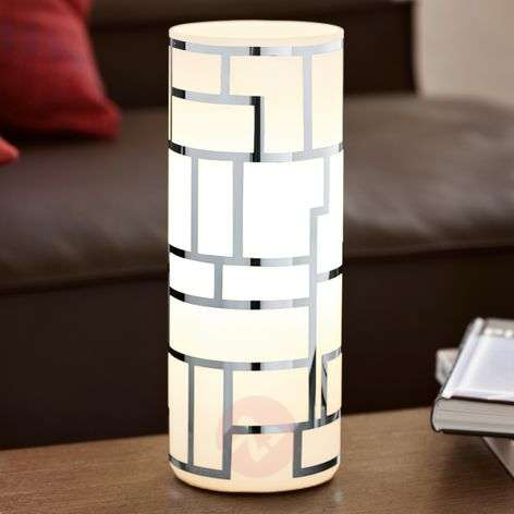 Cylindrical Bayman table lamp