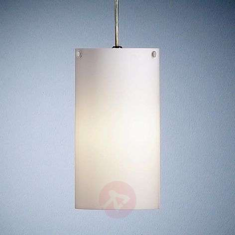 Cylindrical hanging light by Walter Schnepel