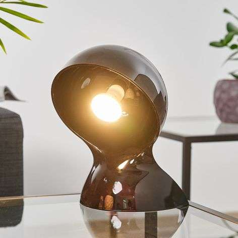 Dalù black designer table light