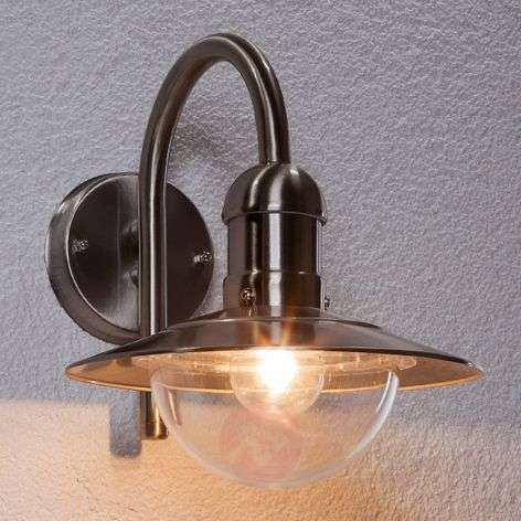 Damion Modern Stainless Steel Outdoor Wall Lamp