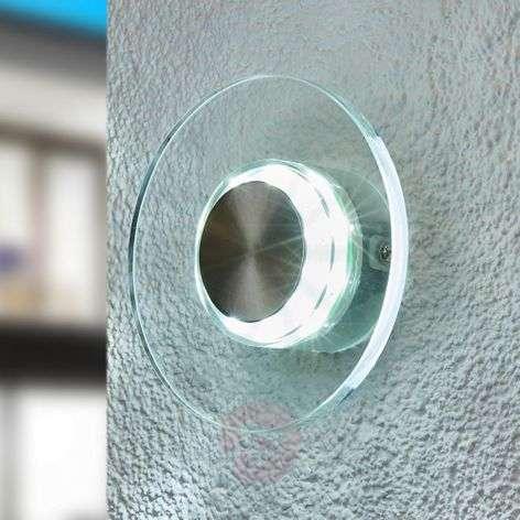 DANA Effective LED Exterior Wall Lamp, Round