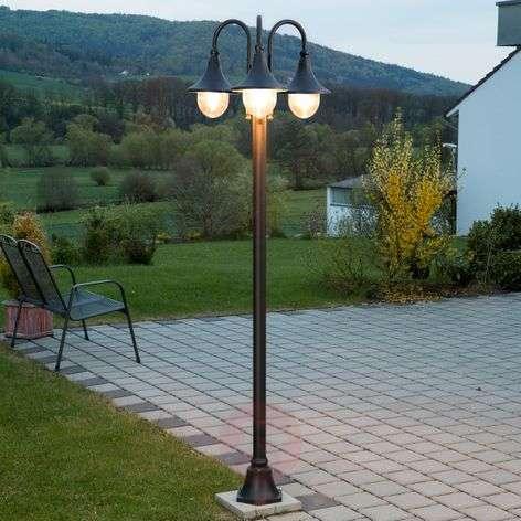 Daphne three-bulb post light-9611079-31