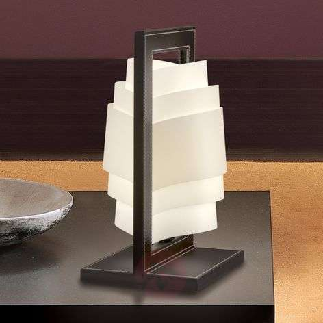 Dark brown table lamp Vincente-1056006-31
