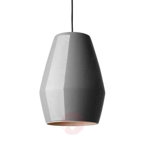 Dark grey hanging light Bell