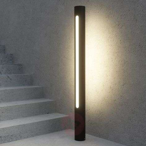 Dark grey LED path lamp Tomas