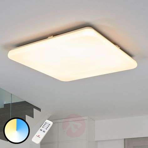 Deana LED ceiling light adjustable luminous colour