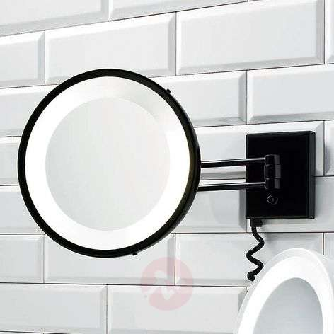 Decor Walther BS 25 make-up mirror black 5x