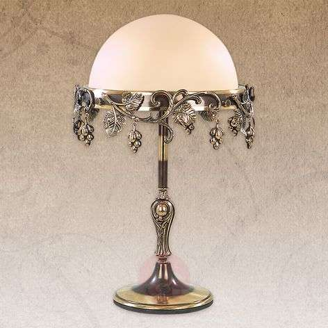 Decorated table lamp Natura