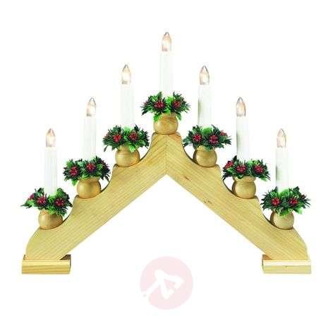 Decorative candle arch Tomas 33 cm