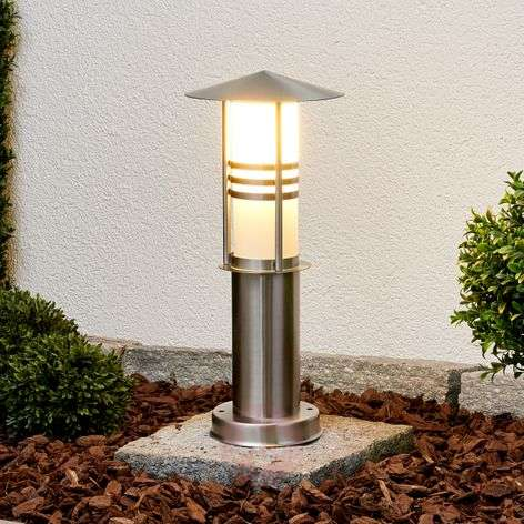 Decorative Erina stainless steel pillar light