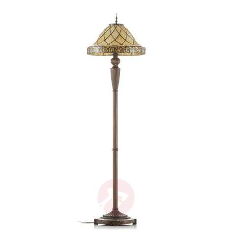 Decorative floor lamp Diamond, Tiffany lampshade