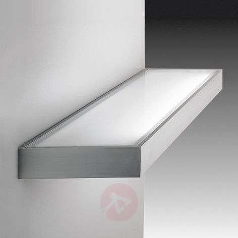 Decorative glass shelf light, ss finish