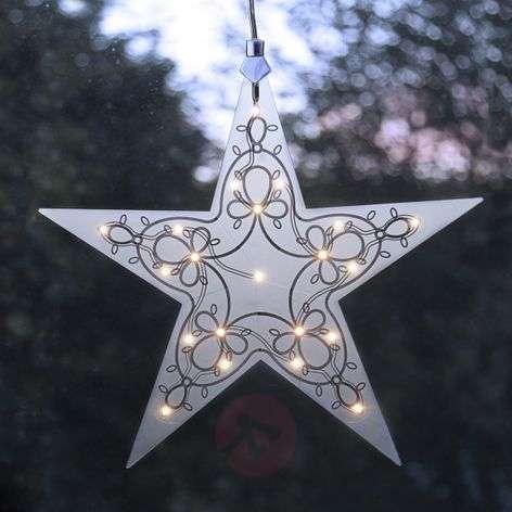 Decorative lamp LED acrylic star Leia